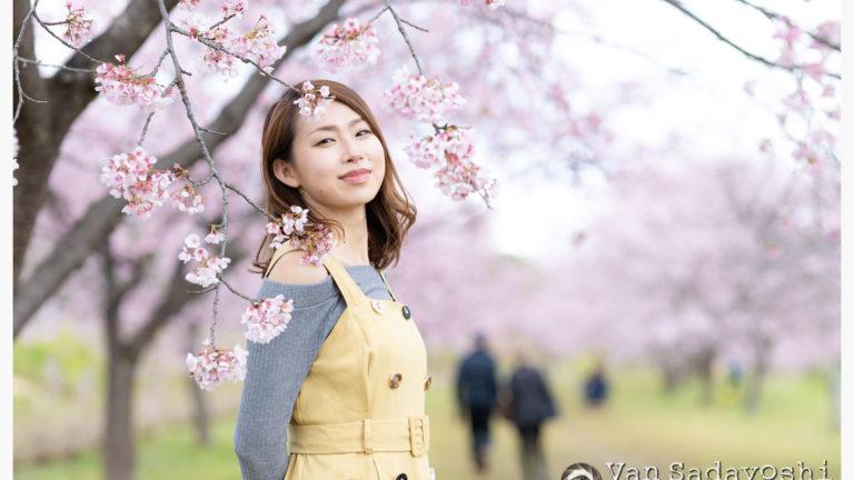 セトセイラさん桜ポトレ