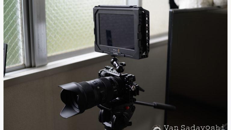 動画のカメラ